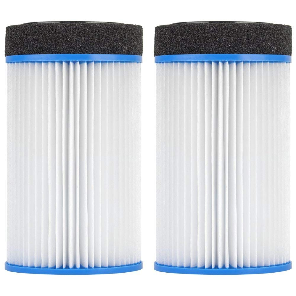 "Clear Choice CCP103 Pool Spa Replacement Cartridge Filter for Spa-in-a-Box, M-SPA, Spa2Go Filter Media, 4-1/2"" Dia x 7-4/5"" Long, [2-Pack]"