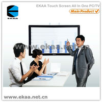 55 inch EKAA Large size All-In-One desktop computer with 3DTV/wifi/camera/BD-DVD/microphone spare parts tablet touch screen