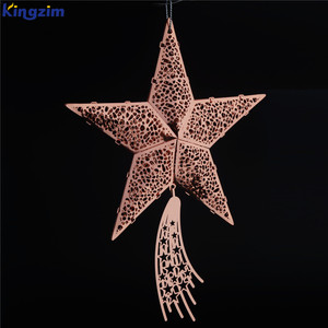 2018 Newest Style led lighted christmas foil hanging decoration