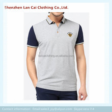 comfortable and breathable polo shirt for men dry fit embroidery print polo t shirt