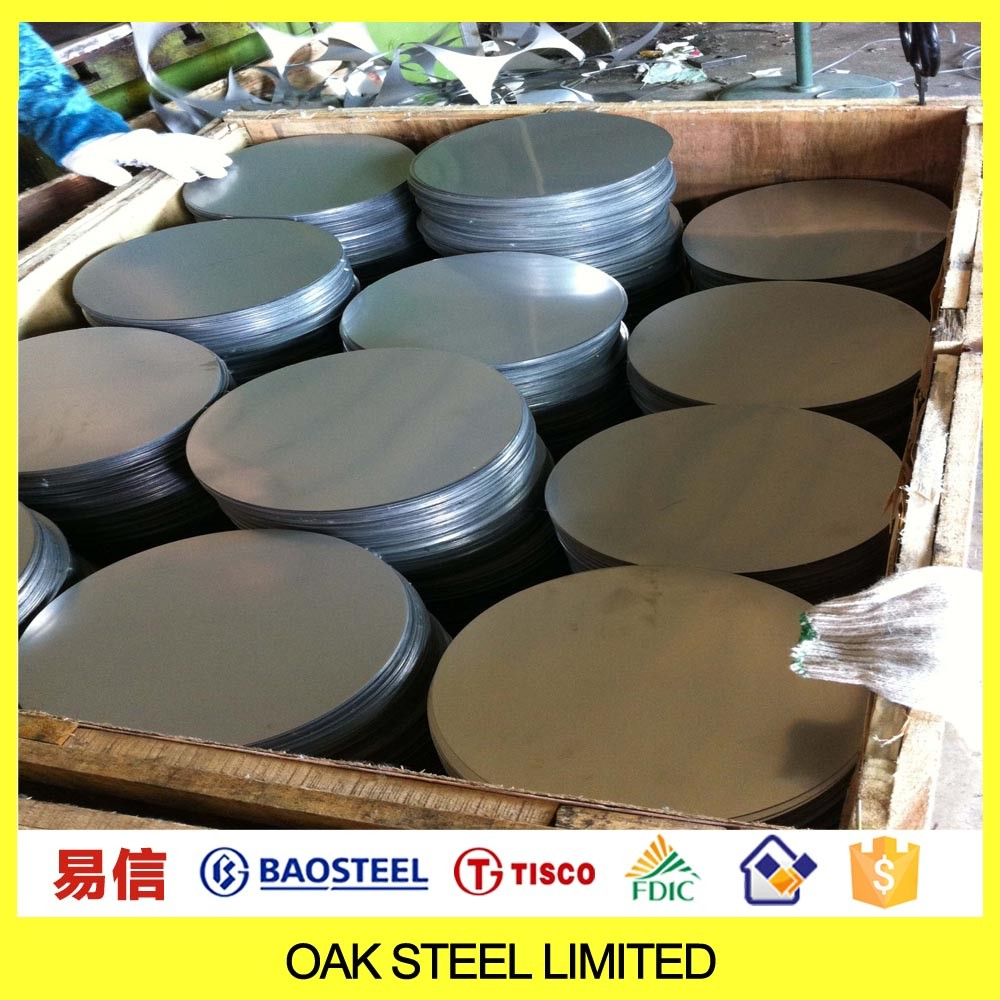 China Top Supplier Stainless Steel Circles Ss 201 Grade Ddq Stainless Steel Circle 201