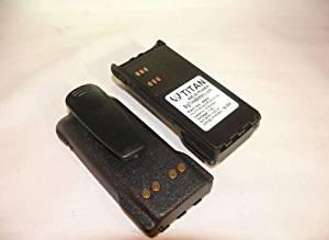 2X Titan NTN9858 2700mAh NI-MH 7.5V Battery for Motorola XTS1500 XTS2500