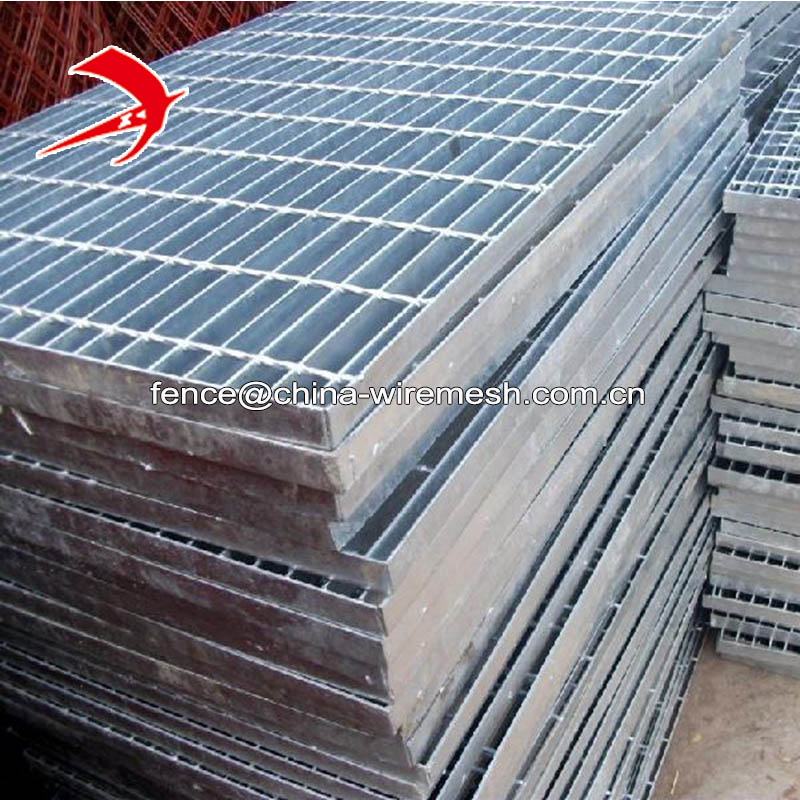 China factory cheap price 1000x6000mm 19W4 metal stair treads steel galvanized grating weight