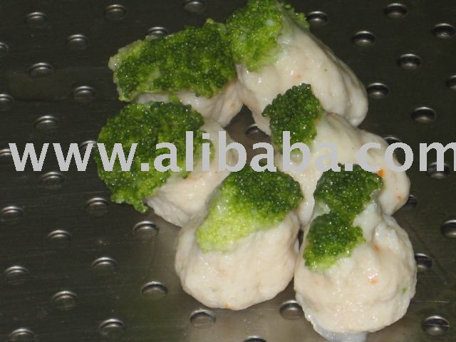 Broccolli Chicken Dumpling