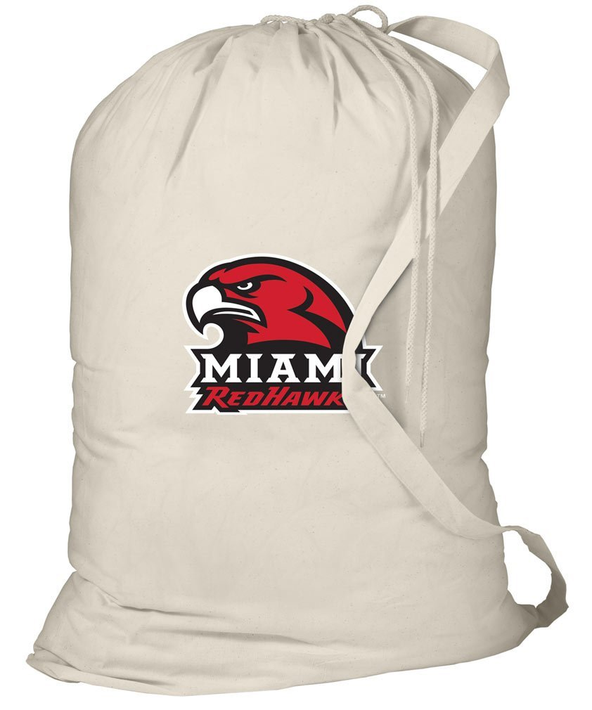 Miami RedHawks Laundry Bag Miami University Clothes Bags