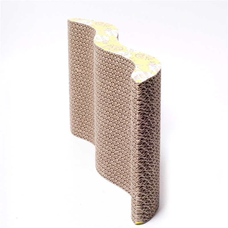 Corrugated Paper Cat Scratch Board Toy Mats Pot Grinding Claw Play Mat  Scratching Posts For Cats Pet Products Toys Accessories - us590 cff98228ad