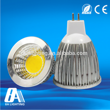 CE approved high power led light 5w dimmable gu10 mr11 led spotlight 230v