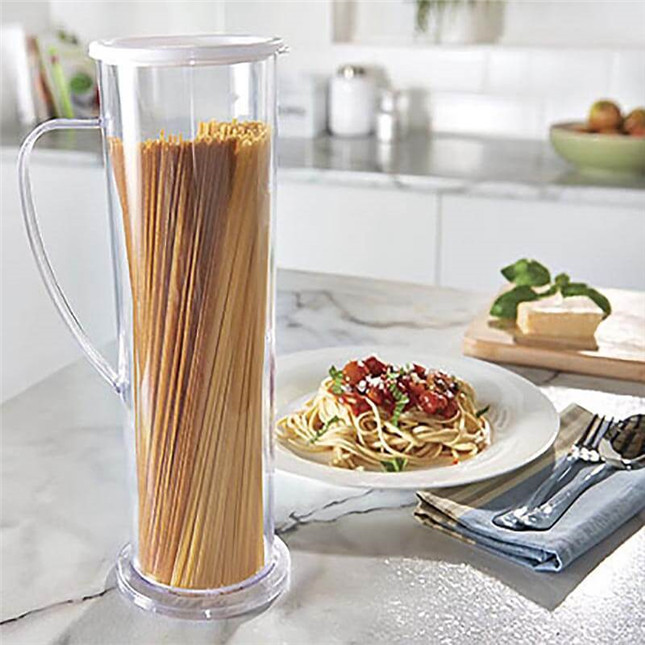 Fast Easy Cooker Noodles Spaghetti Maker Cook Tube Container Pasta Express