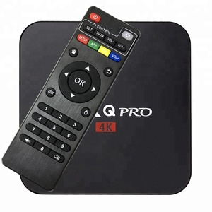 MX Q Pro Android 7.1 TV Box RK3229 Quad-core 1GB+8GB UHD 4K H.264 Media Center Smart OTT TV Box
