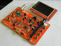 "Open Source DSO138 2.4"" TFT Handheld Pocket-size Digital Oscilloscope DIY Kit With SMD parts soldered"