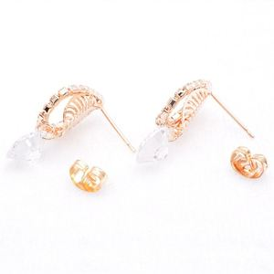 BLJ 0122 Best prices custom gold ear stud
