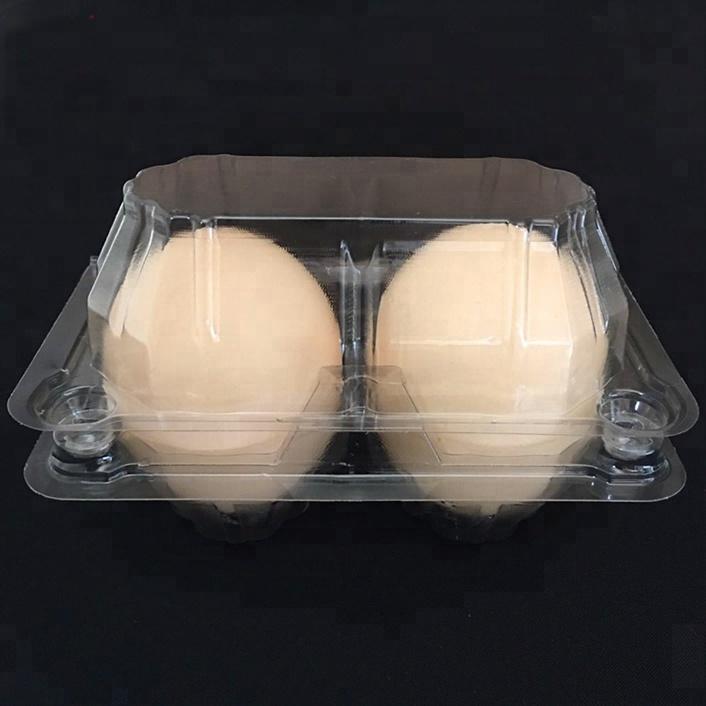 Bandeja plástica do empacotamento da bolha do ovo das pilhas do preço competitivo 2
