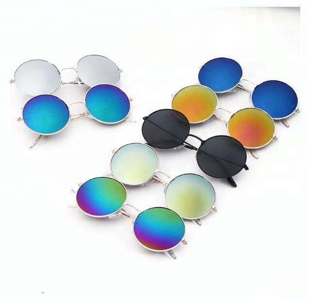 52ffec3c6b8 John Lennon New Arrival Uv400 Mirror Lenses Hot Sales Men Metal Round  Hippie Sunglasses - Buy Custom Round Sunglasses Men