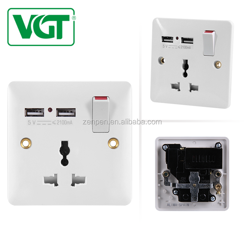 Waterproof Ip66 Electrical Socket Plug Outdoor Power Outlet With On Off Switch New Elegant Shape Air Purifier Parts