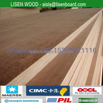 28mm Hardwood Keruing Plywood For Containers Plywood Flooring