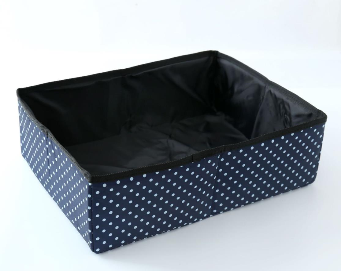 Waterproof Soft Collapsible Pet Cat Litter Box