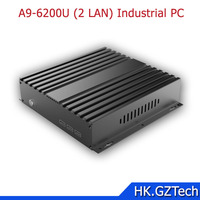 2017 High performance Mini Industries Embedded PC with 2-6 RS232 I5 6200U CPU Dual Lan Industrial Mini Pc