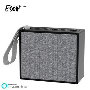 Eson Style Alexa portable bluetooth speaker best selling products 2018 in usa