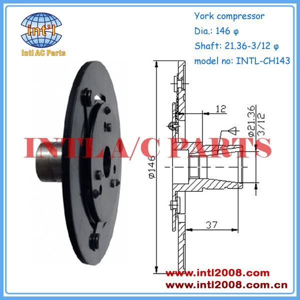 YORK AC compressor clutch hub /drive plate clutch disc -China manufacturer /maker factory dust cover