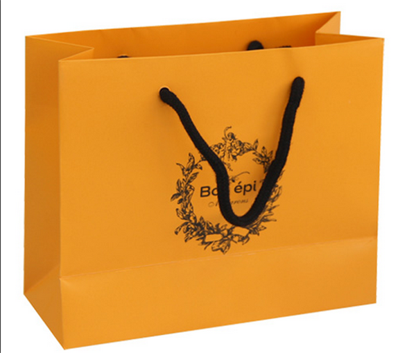luxury shopping paper bags manufacturer in china