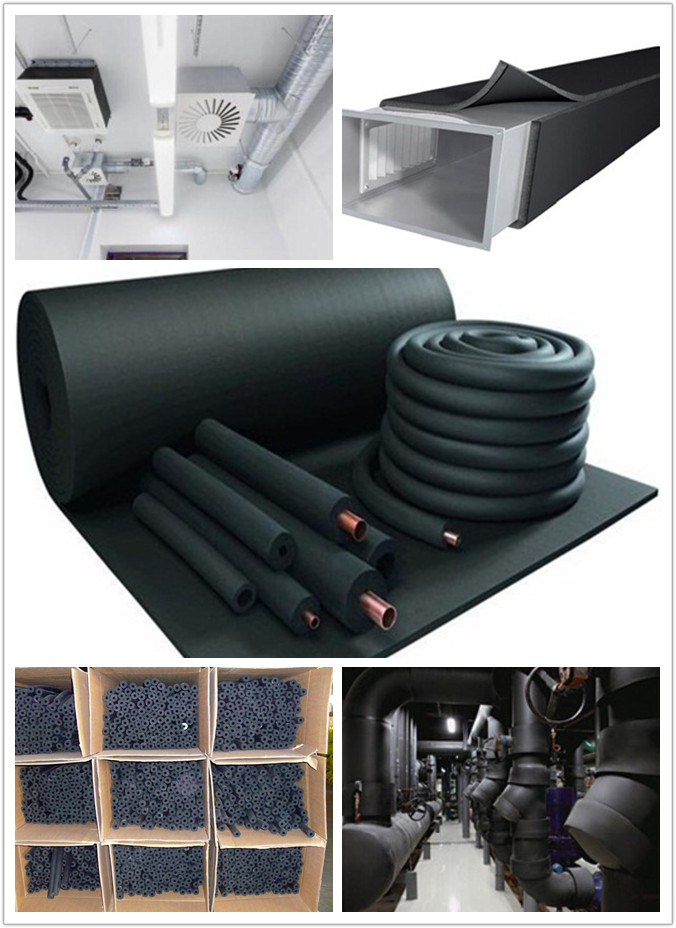 Air Conditioner Insulation Rubber Foam Pipe Buy Air