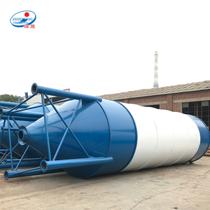 90 100 120 ton prices of sheet-assembled cement silo for concrete mixing station