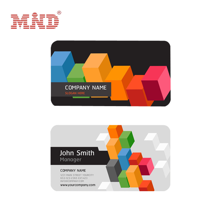 Cheap Price CMYK Printing CR80 Plastic PVC Membership Card/Business Card