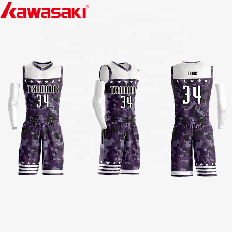 2019 billig Reversible Basketball Uniformen Basketball Uniform Großhandel