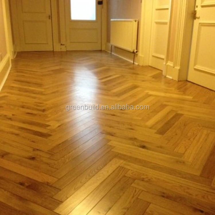 Big size 2016 cheap white oak solid wood flooring parquet for Cheap solid wood flooring