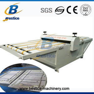 PP corrugated board roller die cutting and creasing machine
