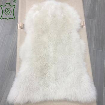 Ordinaire Bleathe White Single Skin Sheepskin Rugs Home Furniture Decoration Sheepskin  Carpets