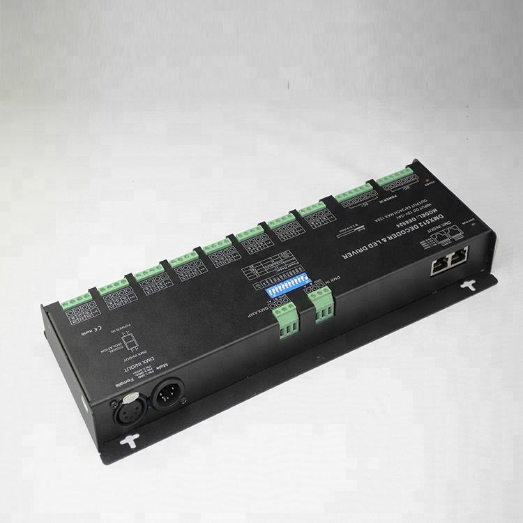 Manual Switch DC12-24V led rgb dmx decoder