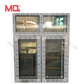 Guangzhou double glazed upvc window/pvc window