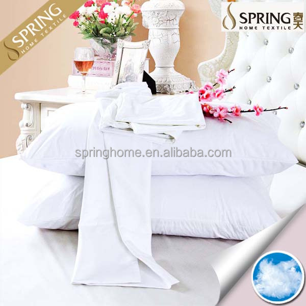 Waterproof Anti Dust Mite/bed Bugs Zippered Cotton Terry Pillow  Cover/protector/pillowcase
