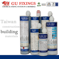 Chemical fixings adhesive bar planting heavy duty safety anchor based adhesive system