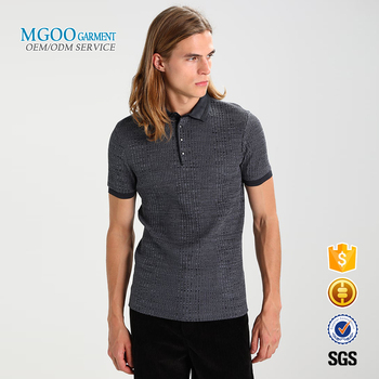 8086d799 polo shirts 65% polyester 35% cotton rib knit polo shirts short sleeve mens  polo