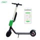 Top Speed 25km/h Bird GPS Rental Dockless Sharing Scooter, Foldable Lime Rent Sharing Electric Scooter Ninebot