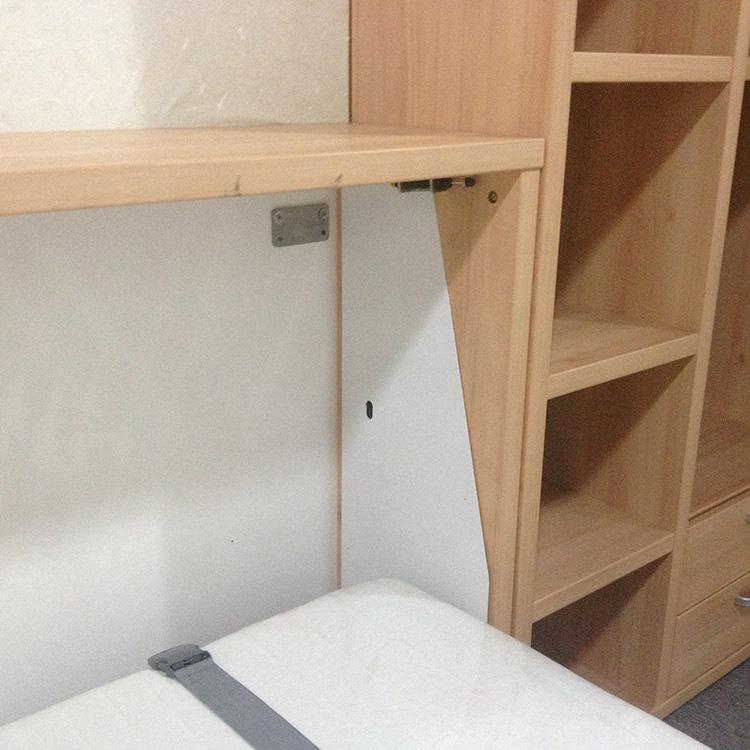 Horizontal Folding Beds : Folding horizontal wall beds with storage