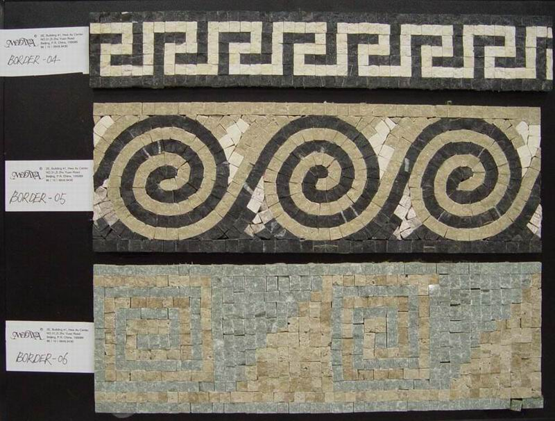 marble mosaic borders buy marble tiles product on alibabacom