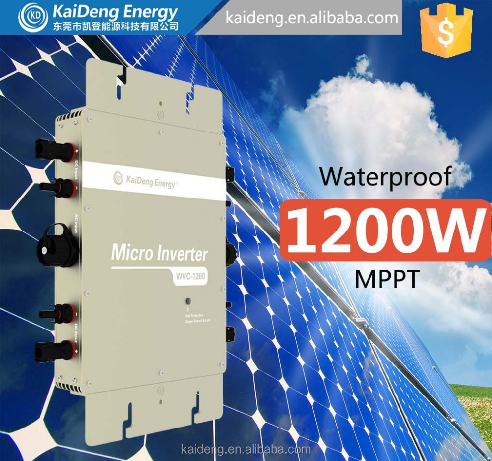 100w Monocrystalline Silicon Solar Panel/micro Inverter ...