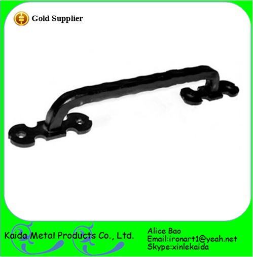 manufacture of Wrought Iron/hand forged Door Handles in china