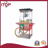 12Oz / 16Oz Commercial Grade with cart popcorn machine