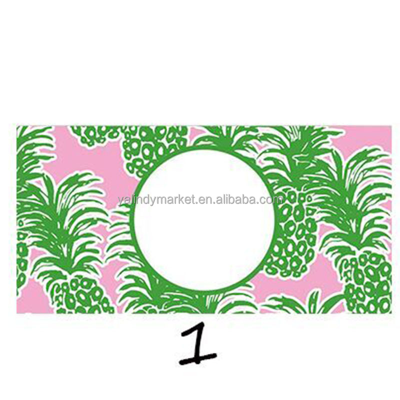 Lilly Pulitzer License Plate Frame. Trellis License Plate. Mermaid ...
