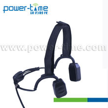 Headset for Outdoor Sport with bone conduction function with PTT adapter with boom mic(PTE-570)