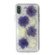 Purple Real Dried Case Flower Phone Covers for Xiaomi hongmi