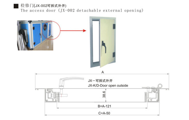 Access Door For Ahu Buy Air Handling Unit Access Door