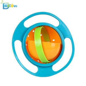 Baby Feeding Set 360 Degree Suction Baby Bowl Color Gift Box