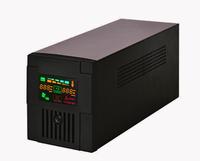 Shenzhen metal case 450-2000VA sine wave led/lcd display portable ups