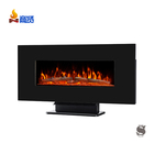 luxury decorative fake electric fireplace stove heater wall mounted electric fireplace tv stand
