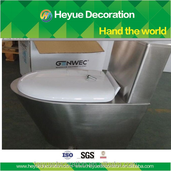 Hot Selling one piece Stainless Steel Toilet